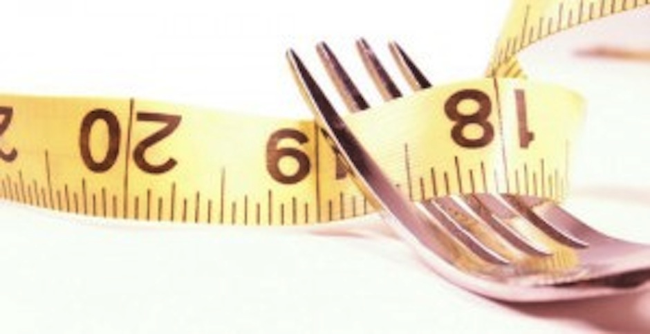 measuring tape and fork