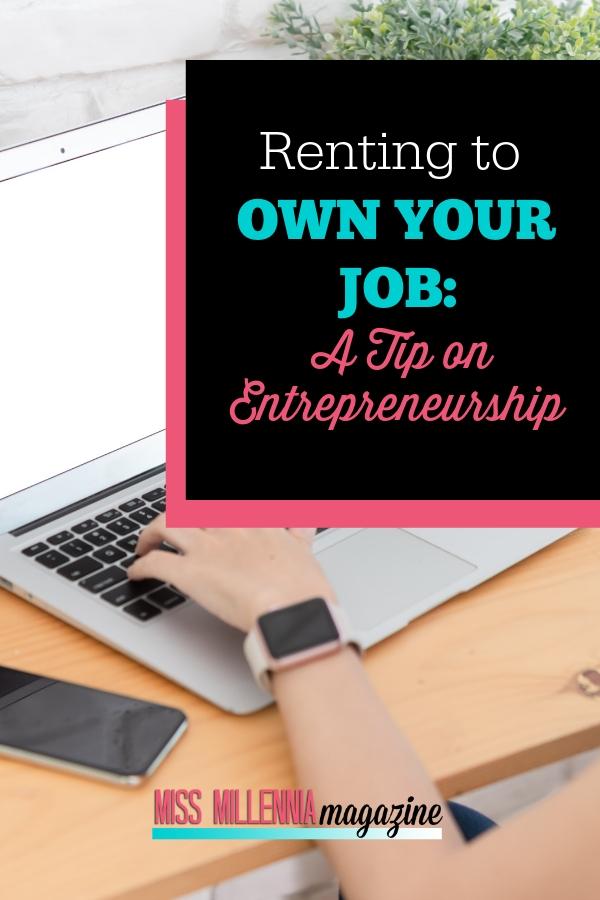 A Tip on Entrepreneurship