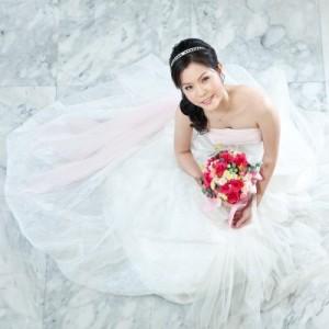 Bride, Bride in a wedding dress, wedding dress, bride holding a bouquet