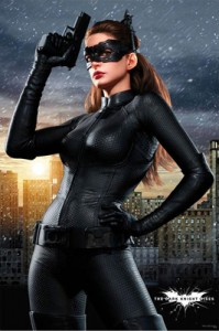 """Anne Hathaway as Catwoman in """"The Dark Knight Rises"""""""