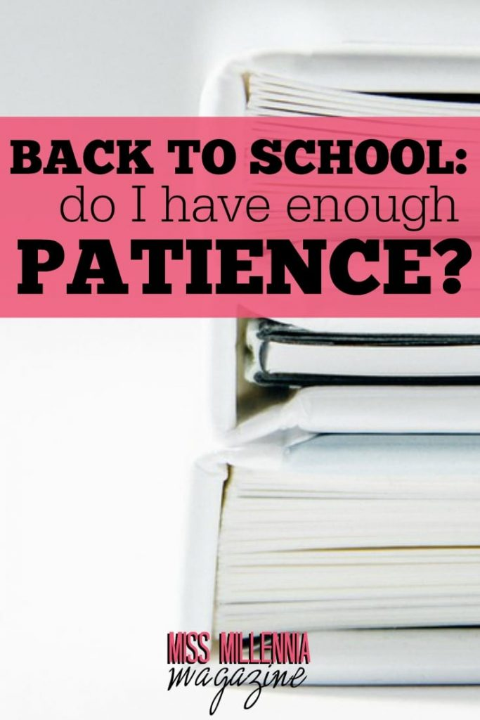 The stress when moving before going back to school and the test it has on your patience. How to balance your budget, start assignments and organize before the new school year.