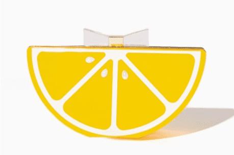 lemon purse yellow fall fashion