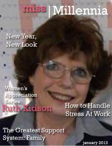 Dr. Ruth Kidson for Miss Millennia magazine