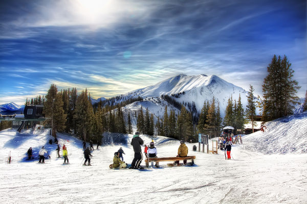 rocky mountain, ski getaway