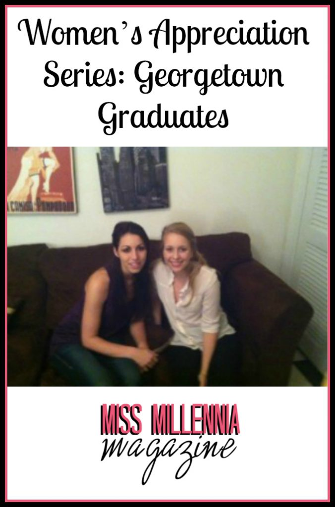 Women's Appreciation Series: Georgetown Graduates