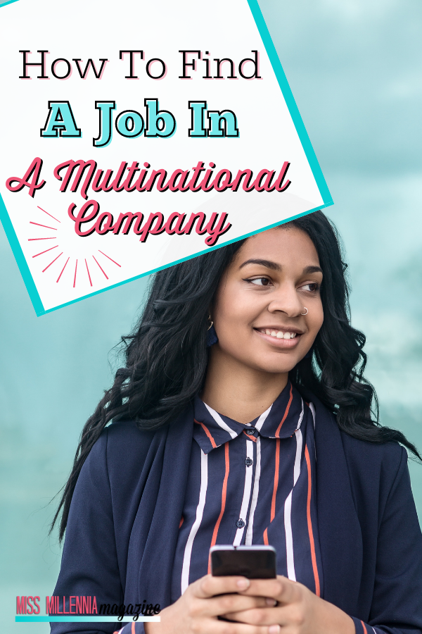 How To Find A Job In A Multinational Company