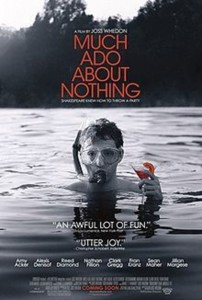 Image of Much Ado About Nothing poster.