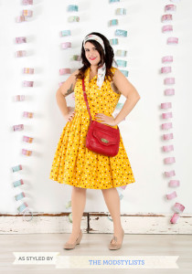 yellow dress, mod cloth dress, vintage dress, plus size dress, plus size