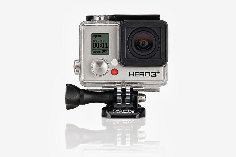 GoPro HERO3+: Silver Edition