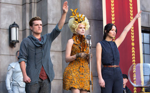 scene from the catching fire