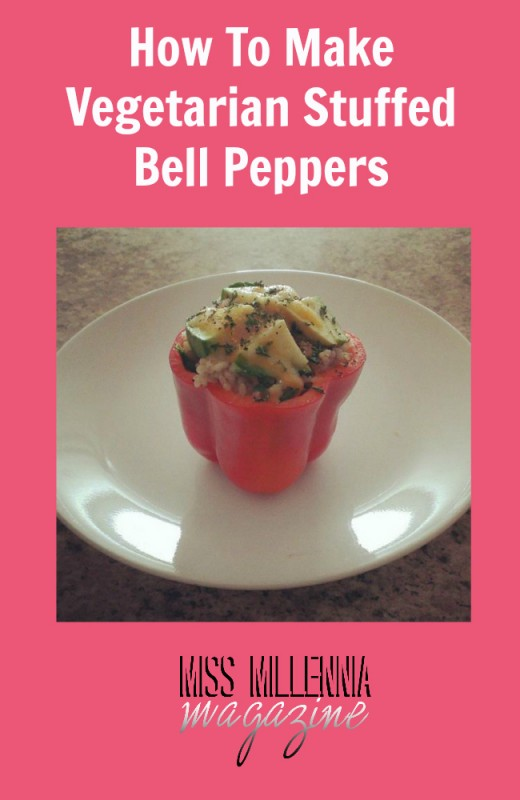 How To Make Vegetarian Stuffed Bell Peppers