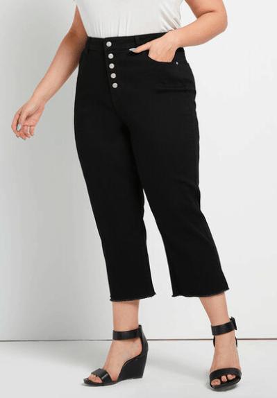 black capris pants