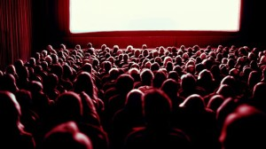 Crowded Movie Theater