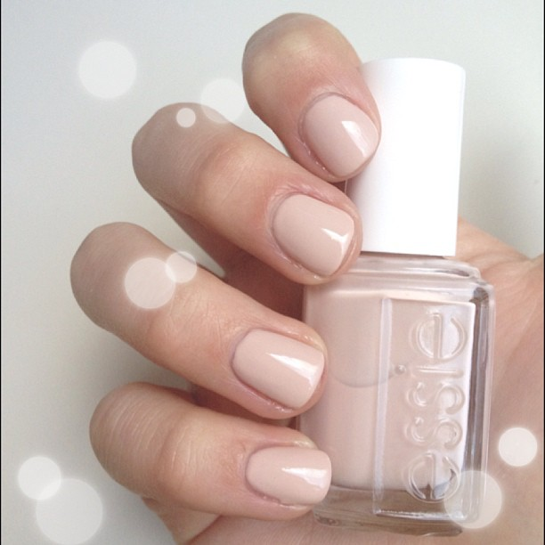 essie topless and barefoot nail polishes