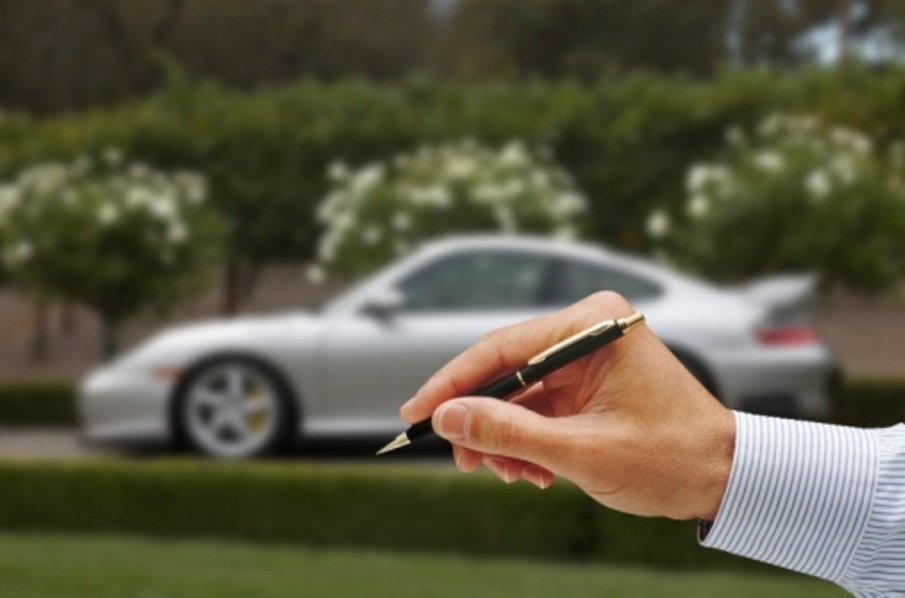 Loans using car as collateral estoppel