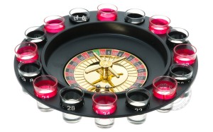 Drinking Shots Roulette
