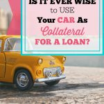 Car Collateral for a Loan