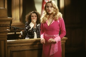 legally blonde scene: movies about successful women