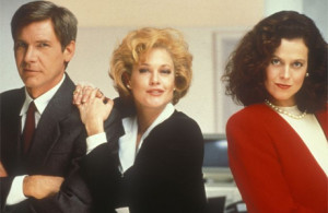 working girl scene: movies about successful women