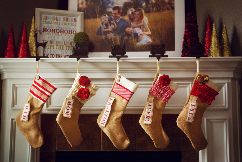 Pink Slip Inspiration Stockings