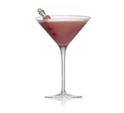 raspberry white chocolate truffle cocktail