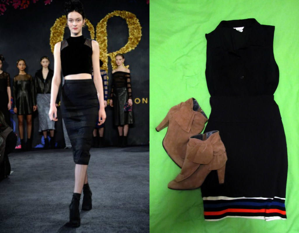 Charlotte Ronson Original and Inspired Outfit