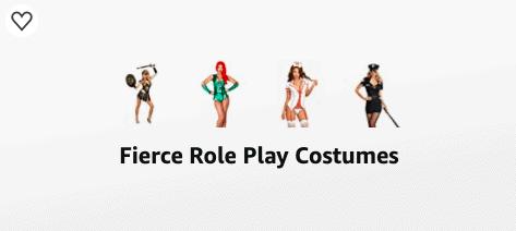 Fierce Role Play Costumes Amazon List
