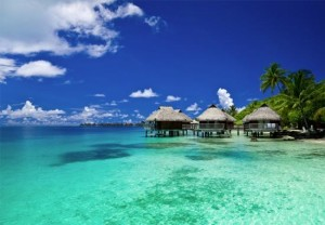 bongalows in bora bora