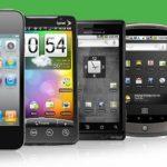 Line of smart phones
