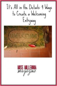 It's All in the Details 4 Ways to Create a Welcoming Entryway