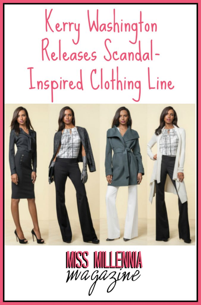 Kerry Washington Releases Scandal-Inspired Clothing Line