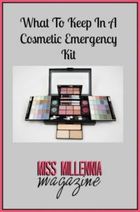 What To Keep In A Cosmetic Emergency Kit