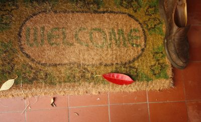 welcome mat, decor