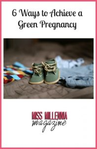 6 Ways to Achieve a Green Pregnancy