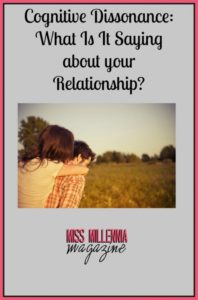 cognitive dissonance relationship