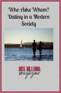 Who Asks Whom Dating in a Modern Society