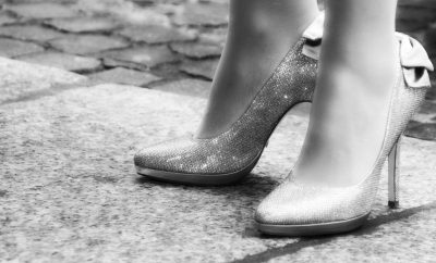 high heels, shoes