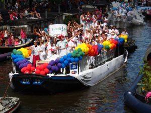 gay pride parade, boat. same-sex marriage