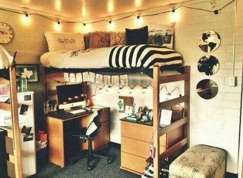 My college freshman dorm experience Dorm room setups