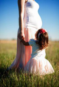 pregnant, daughter