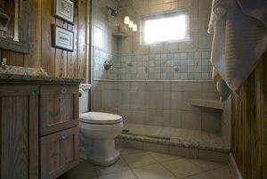 home decor in bathroom