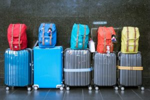 luggage lined up