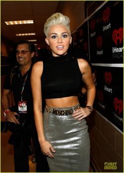 Miley Cyrus at New York Fashion week