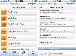 paypal mobile app for budgeting