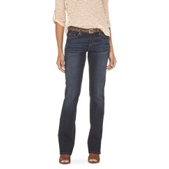 Mid-Rise Bootcut Denim (Modern Fit) from Target for fall