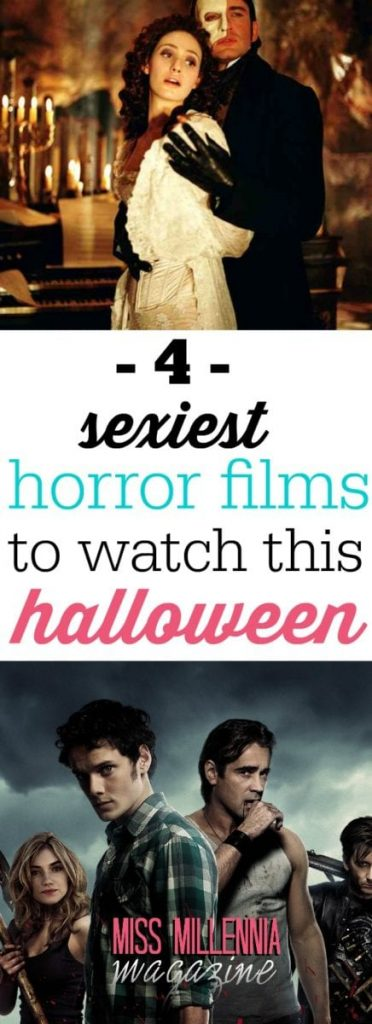The four sexiest horror shows and films to watch this Halloween! Curl up with a pumpkin spice latte or your SO to enjoy these.