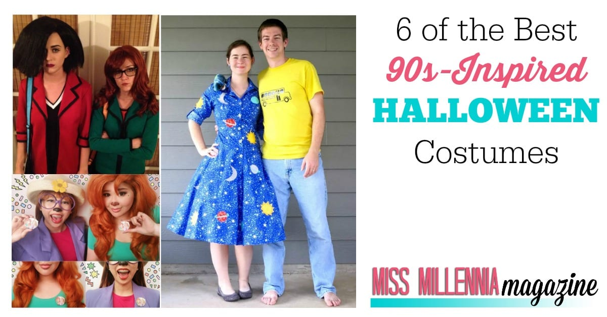 sc 1 st  Miss Millennia Magazine & 6 of the Best 90s-Inspired Halloween Costumes