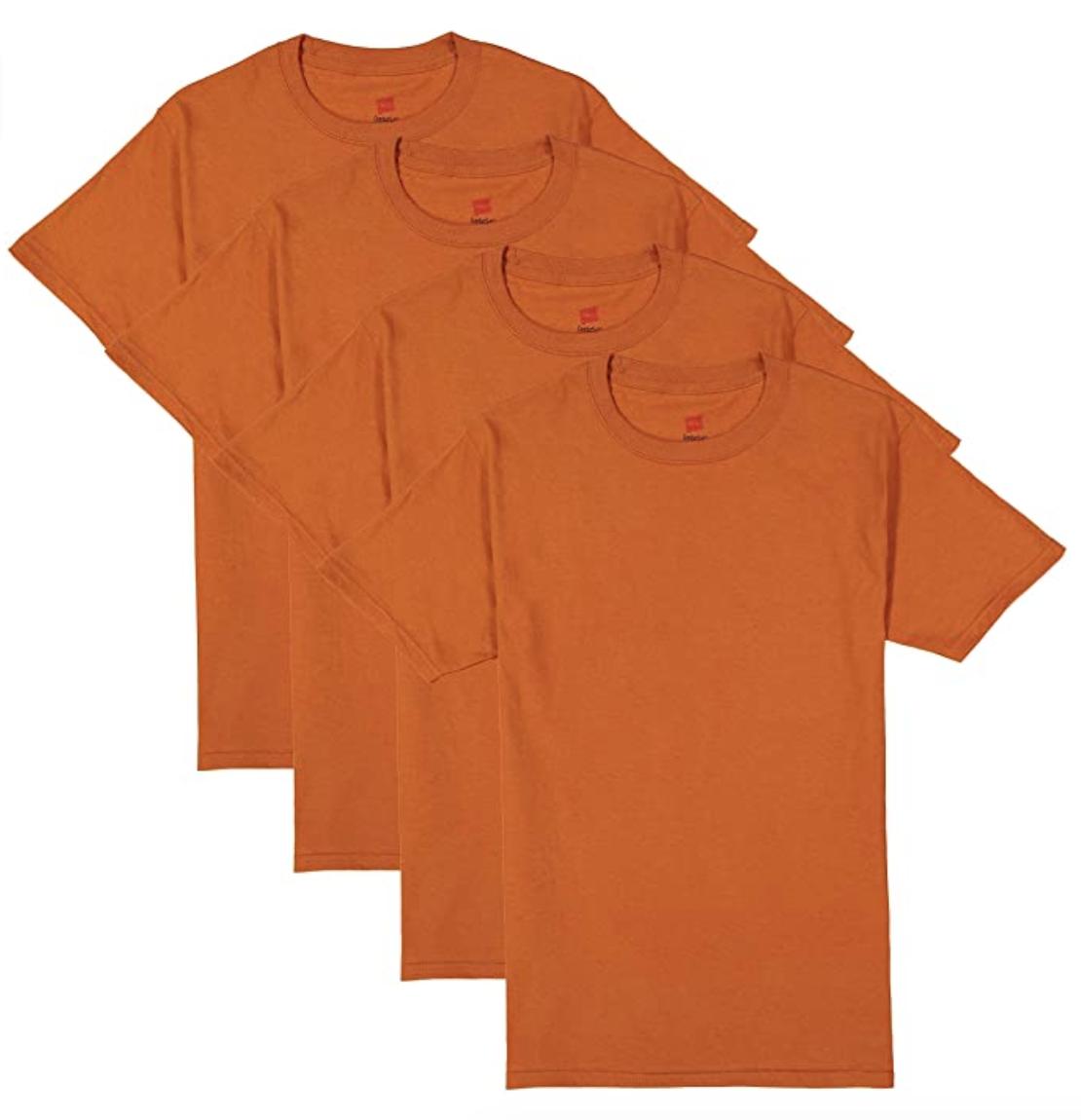 orange t-shirts