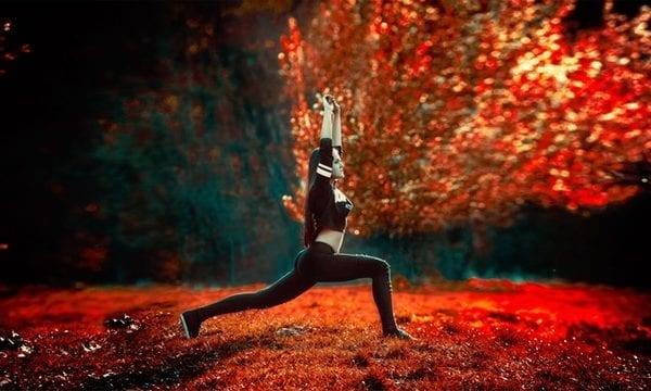 exercise outside in the fall to stay healthy