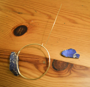 wire wrapped bangles
